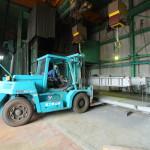 富士工場は大型品を多く扱っています。